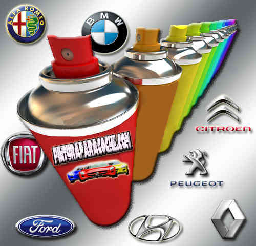 Spray Pintura del color de tu coche 400ml.
