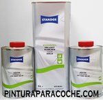 Kit Standox Barniz Easy 5lt. + 2 Catalizadores Easy Normal 1lt.