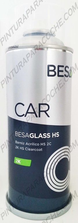 Spray Barniz Brillo Coches Laca 2K 400ml.