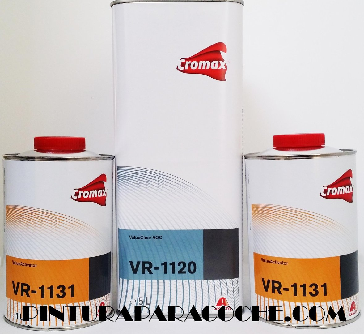 Kit Cromax VR1120 + 2 catalizadores