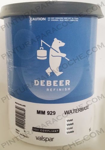 De Beer Waterbase MM 929 1L