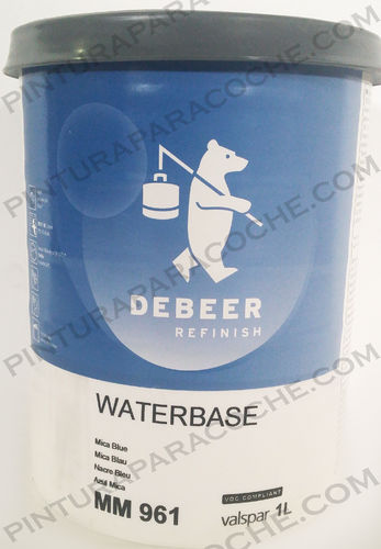 De Beer Waterbase MM 961 1L