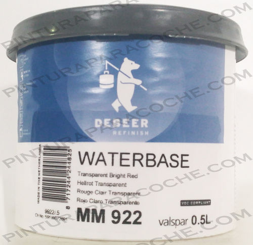 De Beer Waterbase MM 922 0,5L
