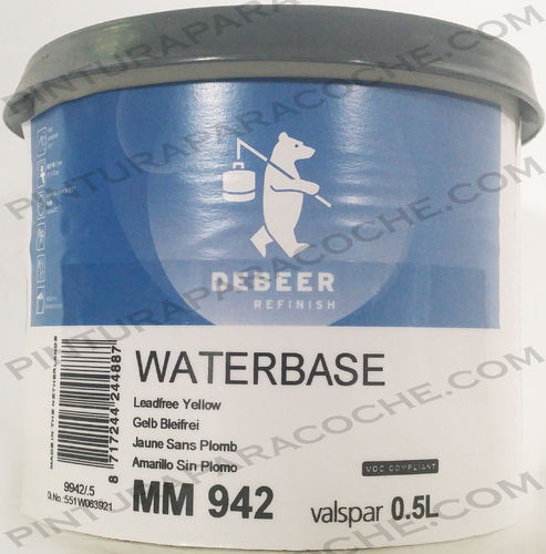 De Beer Waterbase MM 942 0,5L