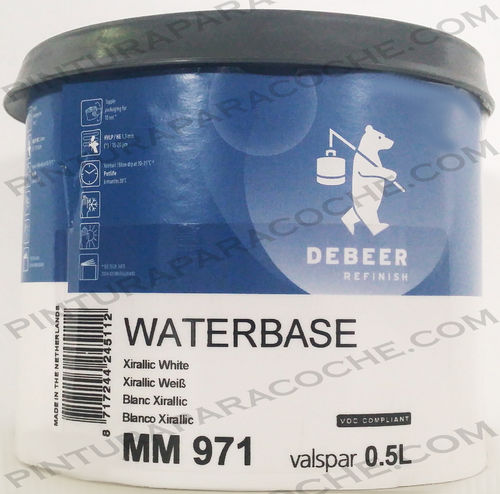 De Beer Waterbase MM 971 0,5L