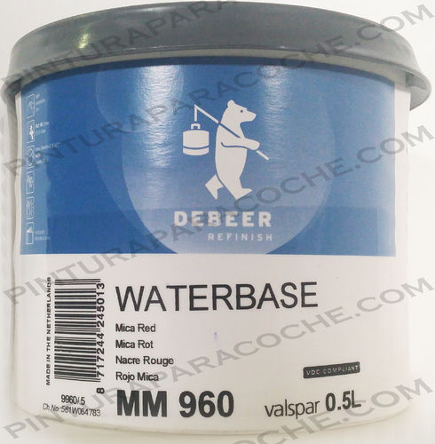 De Beer Waterbase MM 960 0,5L