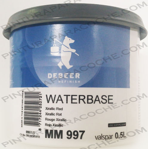 De Beer Waterbase MM 997 0,5L
