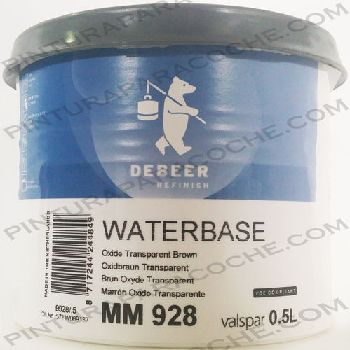 De Beer Waterbase MM 928 0,5L