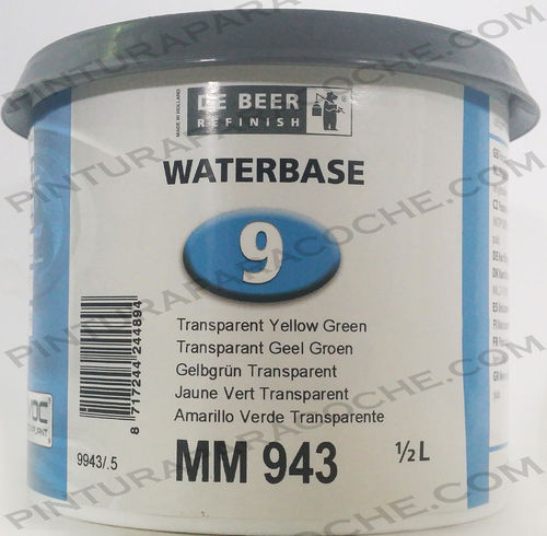 De Beer Waterbase MM 943 0,5L