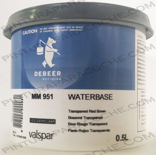 De Beer Waterbase MM 951 0,5L