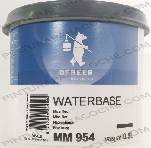 De Beer Waterbase MM 954 0,5L