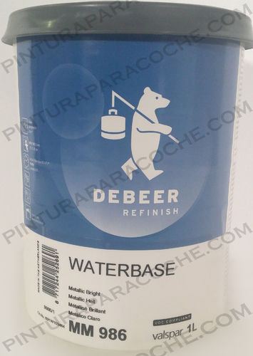 De Beer Waterbase MM 986 1L