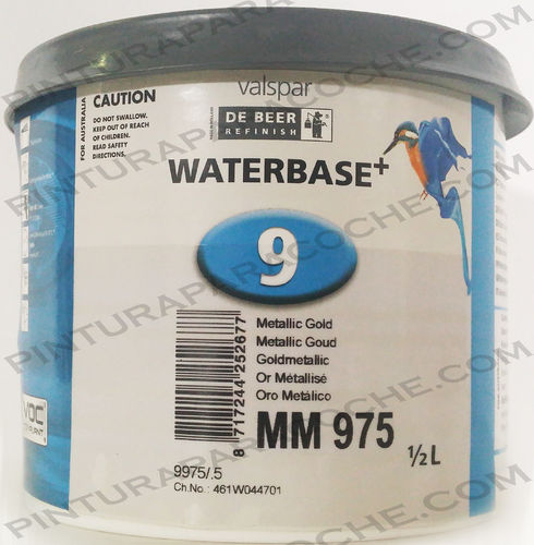 De Beer Waterbase MM 975 0,5L