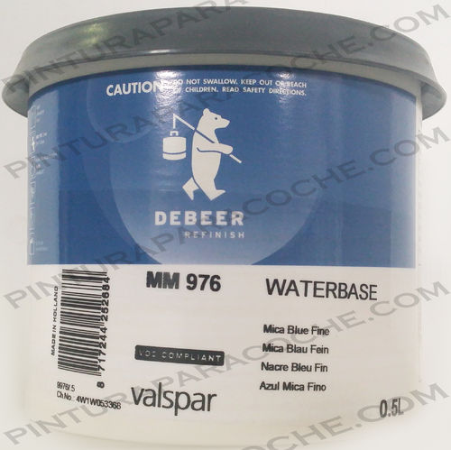 De Beer Waterbase MM 976 0,5L