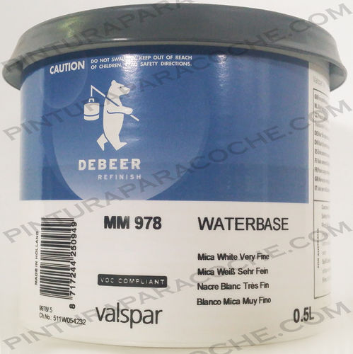 De Beer Waterbase MM 978 0,5L