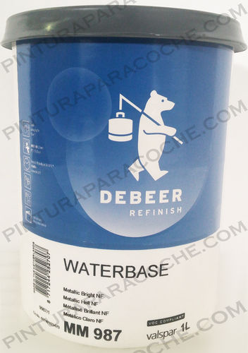 De Beer Waterbase MM 987 1L