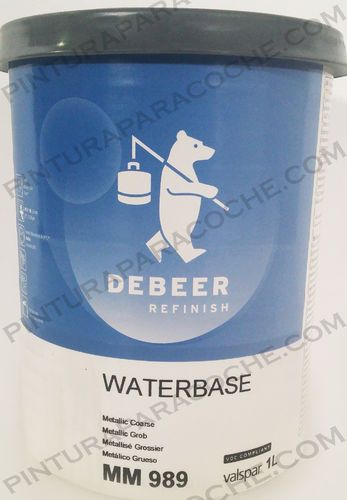 De Beer Waterbase MM 989 1L