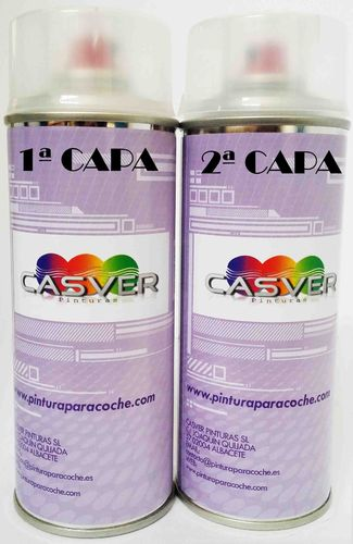 Kit Spray Pintura Tricapa 400ml + 400ml.