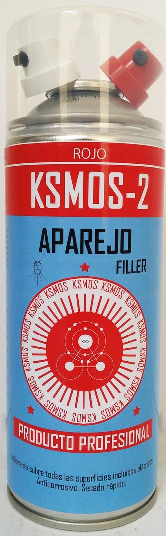 Spray Aparejo Rojo 400ml.