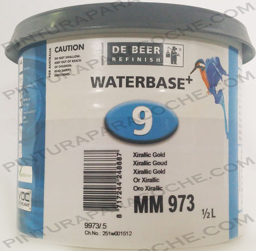 De Beer Waterbase MM 973 0,5L