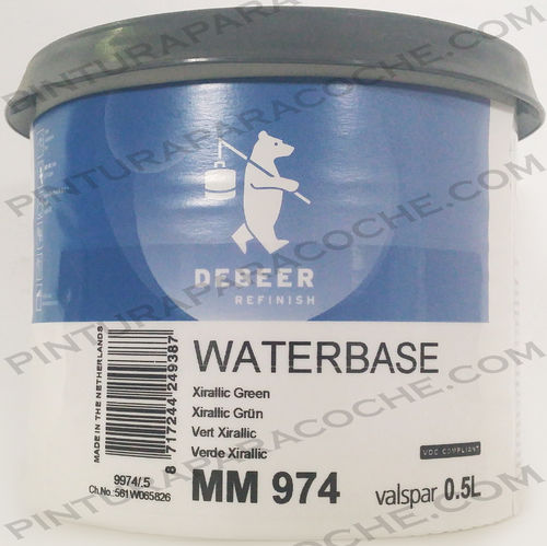 De Beer Waterbase MM 974 0,5L