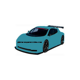 LC5A TEAL BLUE VOLKSWAGEN