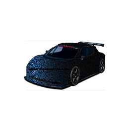 LC5M - C7C7 MOONLIGHT BLUE AUDI
