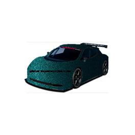 132A - 35U DARK TEAL OPEL