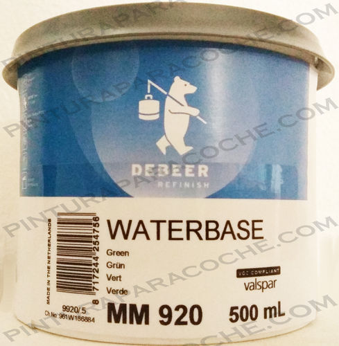 De Beer Waterbase MM 920 0,5L